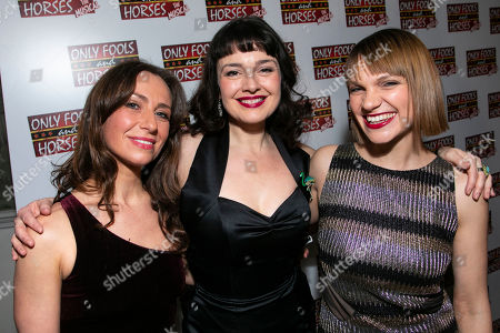 Stock Picture of Samantha Seager (Marlene), Dianne Pilkington (Raquel) and Pippa Duffy (Cassandra)