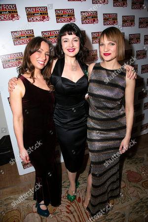 Stock Photo of Samantha Seager (Marlene), Dianne Pilkington (Raquel) and Pippa Duffy (Cassandra)