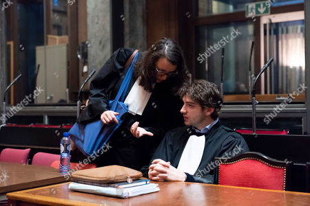 Lawyer Virginie Taelman and Lawyer Guillaume Lys