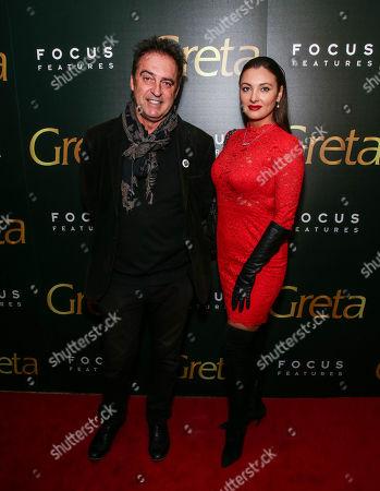 Editorial picture of 'Greta' film screening, Arrivals, New York, USA - 19 Feb 2019
