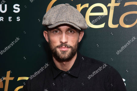 "Tobias Sorensen attends a screening of Focus Features' ""Greta"", hosted by The Cinema Society, at Metrograph,in New York"
