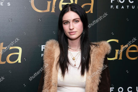 "Tali Lennox attends a screening of Focus Features' ""Greta"", hosted by The Cinema Society, at Metrograph,in New York"