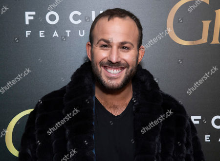 """Micah Jesse attends a screening of Focus Features' """"Greta"""", hosted by The Cinema Society, at Metrograph,in New York"""