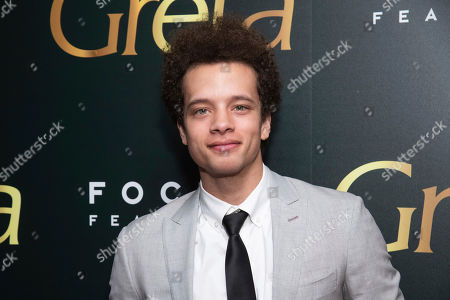 "Damon J Gillespie attends a screening of Focus Features' ""Greta"", hosted by The Cinema Society, at Metrograph,in New York"
