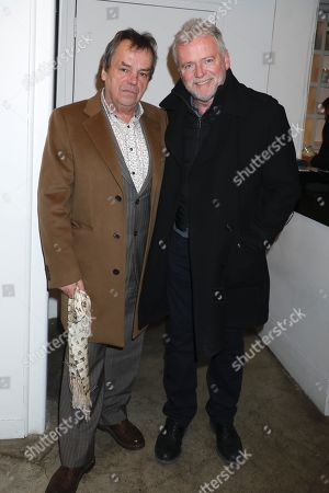 Neil Jordan and Aidan Quinn