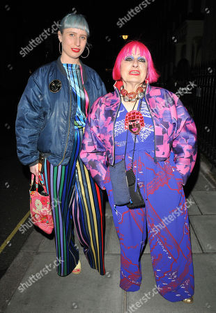 guest and Zandra Rhodes