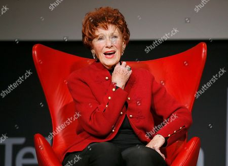 """Marion Ross takes part in the lively Television Academy member event, """"Staying at the Table: A Conversation with Henry Winkler, """" at the Saban Media Center at the Television Academy on in North Hollywood, Calif"""