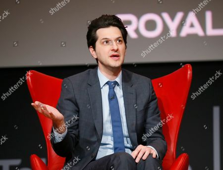 "Ben Schwartz takes part in the lively Television Academy member event, ""Staying at the Table: A Conversation with Henry Winkler, "" at the Saban Media Center at the Television Academy on in North Hollywood, Calif"