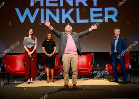 Editorial image of Staying at the Table: A Conversation with Henry Winkler, North Hollywood, USA - 19 Feb 2019