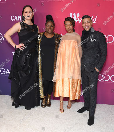 Editorial picture of 21st Costume Designers Guild Awards, Arrivals, Los Angeles, USA - 19 Feb 2019