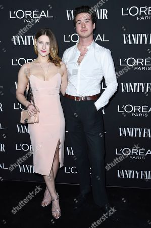 Destry Spielberg and Riley Aves. Destry Spielberg, left, and Riley Aves attend the Vanity Fair and L'Oreal Paris' New Hollywood Party at Ysabel on Tuesday, Feb.19, 2019, in West Hollywood, Calif