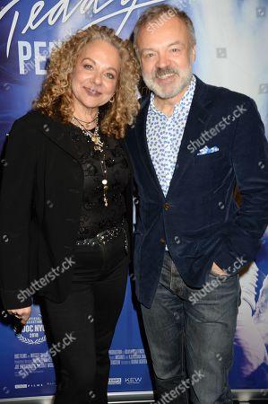 Olivia Lichtenstein and Graham Norton