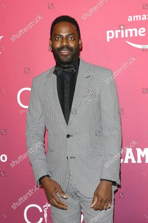 Baron Vaughn arrives for the 21st Costume Designers Guild Awards (CDGA) in Beverly Hills, California, USA, 19 February 2019.