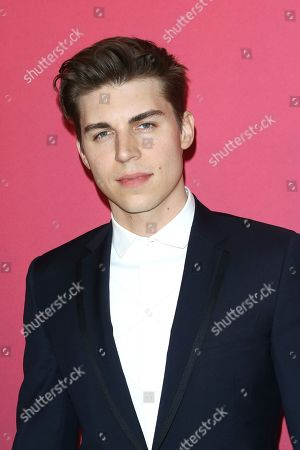 Nolan Gerard Funk arrives for the 21st Costume Designers Guild Awards (CDGA) in Beverly Hills, California, USA, 19 February 2019.