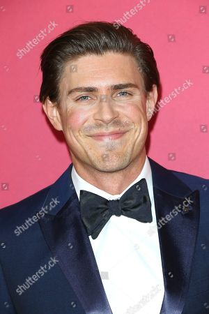 Chris Lowell arrives for the 21st Costume Designers Guild Awards (CDGA) in Beverly Hills, California, USA, 19 February 2019.