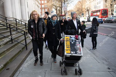 Editorial photo of Lauri Love court case, London, UK - 19 Feb 2019