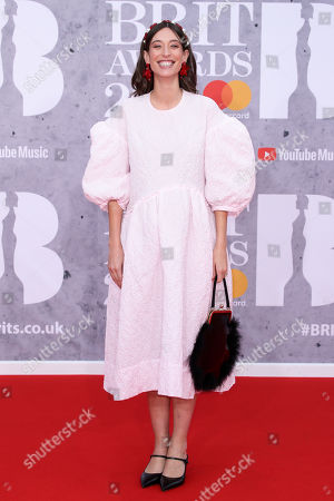 Editorial image of 39th Brit Awards, Arrivals, The O2 Arena, London, UK - 20 Feb 2019