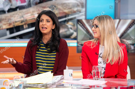 Konnie Huq and Leanne Brown