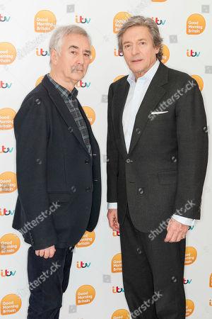 Denis Lawson and Nigel Havers