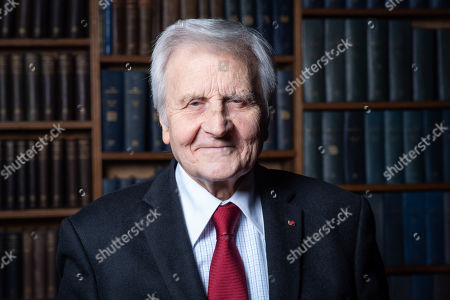 Editorial image of Jean-Claude Trichet at the Oxford Union, UK - 05 Feb 2019