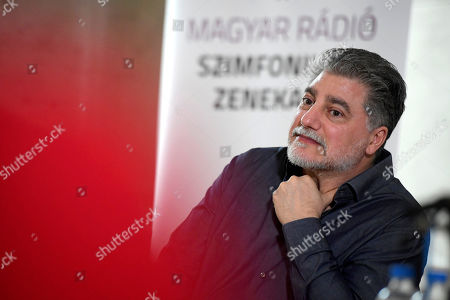 Editorial picture of Jose Cura becomes Hungarian Radio Art Groups guest artist, Budapest, Hungary - 20 Feb 2019