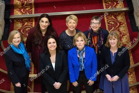 Sarah Wollaston, Luciana Berger, Heidi Allen, Angela Smith, Anna Soubry, Ann Coffey and Joan Ryan