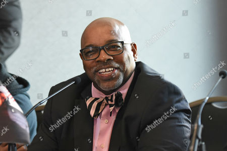 Stock Picture of Carl Lewis during a Press Conference at Intercontinental at The O2 on 20th February 2019
