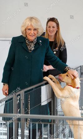 Camilla Duchess of Cornwall visit to Milton Keynes