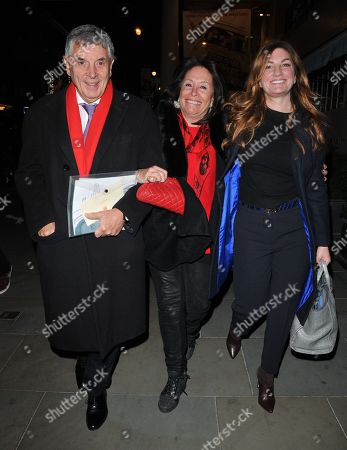 David Dein, Barbara Dein and Karren Brady MP