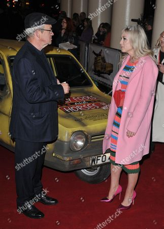 Harry Enfield and Helen George