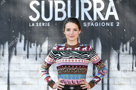 Editorial image of 'Suburra' TV series photocall, Rome, Italy - 20 Feb 2019