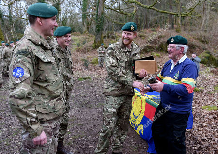Editorial picture of Prince Harry visits 42 Commando Royal Marines, Bickleigh, Devon, UK - 20 Feb 2019