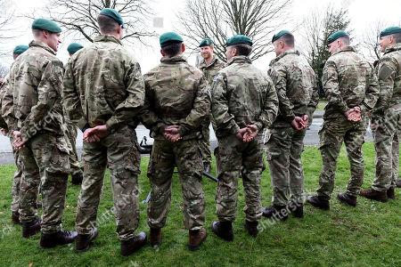 Editorial photo of Prince Harry visits 42 Commando Royal Marines, Bickleigh, Devon, UK - 20 Feb 2019