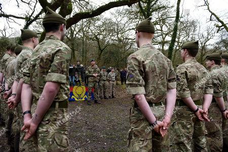 Editorial image of Prince Harry visits 42 Commando Royal Marines, Bickleigh, Devon, UK - 20 Feb 2019