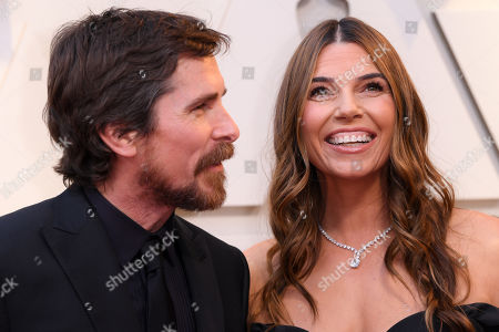 Stock Image of Christian Bale and Sibi Blazic