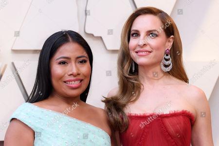 Yalitza Aparicio and Marina de Tavira