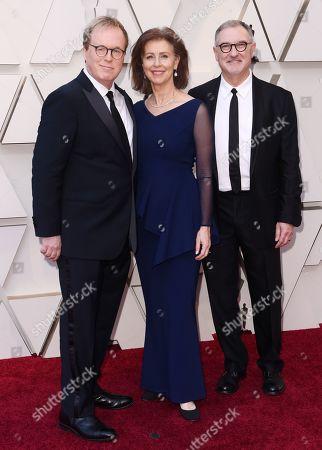 Stock Image of Brad Bird, Nicole Paradis Grindle and John Walker