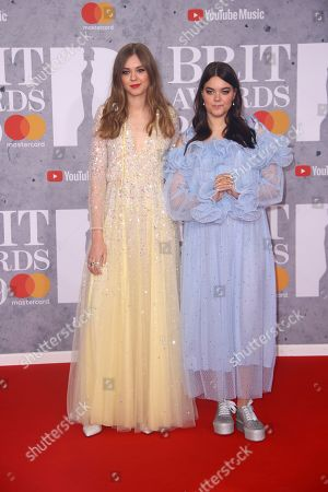 Editorial photo of Brit Awards 2019 Arrivals, London, United Kingdom - 20 Feb 2019