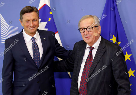 President of Slovenia Borut Pahor visit to Brussels