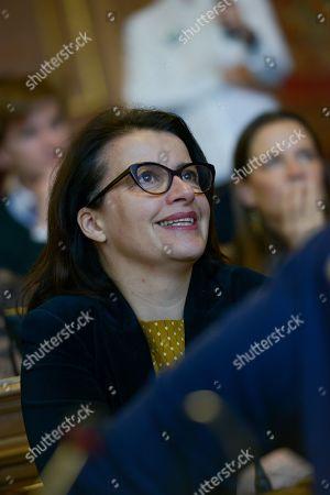 Cecile Duflot, Oxfam France Executive Director.