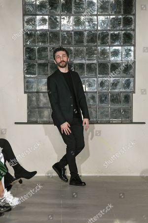 Editorial picture of David Koma show, Fall Winter 2019, London Fashion Week, UK - 18 Feb 2019