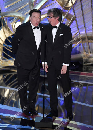 Mike Myers and Dana Carvey