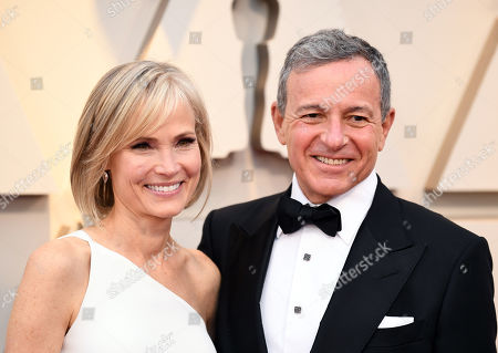 Willow Bay and Bob Iger