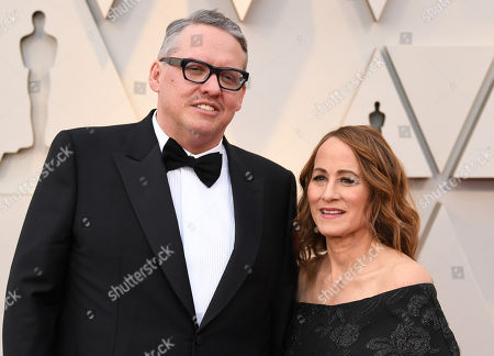 Stock Image of Adam McKay and Shira Piven
