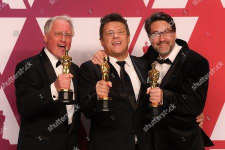 Paul Massey, Tim Cavagin and John Casali - Sound Mixing - Bohemian Rhapsody