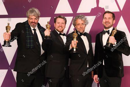Paul Lambert, Ian Hunter, Tristan Myles and J.D. Schwalm - Visual Effects - 'First Man'