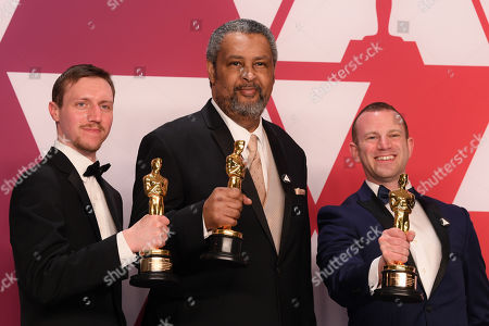 Stock Photo of Charlie Wachtel, David Rabinowitz and Kevin Willmott - Best Adapted Screenplay - 'BlacKkKlansman'