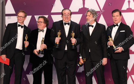 Jim Burke, Charles B. Wessler, Brian Currie, Peter Farrelly and Nick Vallelongo - Best Picture - 'Greenbook'
