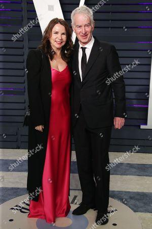 Patty Smith and John McEnroe