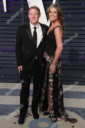 Stock Image of Michael Feldman and Savannah Guthrie